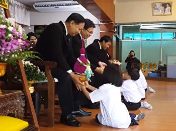 กิจกรรมไหว้ครูและต้อนรับนักเรียนใหม่ ประจำปีการศึกษา 2561