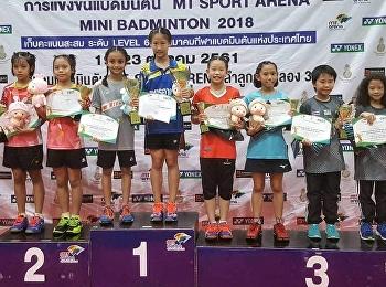 Badminton MT SPORT ARENA MINI BADMINTON 2018