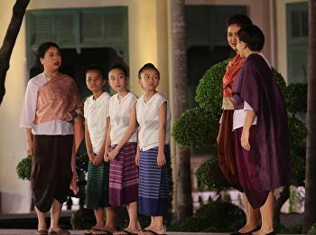 นักเรียนสาธิตร่วมแสดงละครใต้ร่มพระบารมี ๘๐ ปีสวนสุนนันทา
