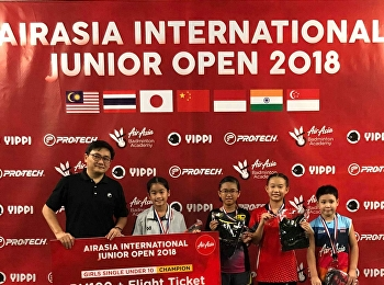AIRASIA INTERNATIONAL JUNIOR OPEN CHAMPIONSHIP 2018