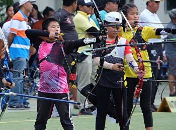 เข้าร่วมการแข่งขันยิงธนูชิงแชมป์แห่งประเทศไทย