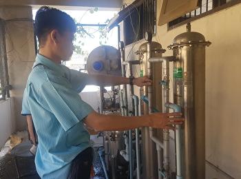 ล้างทำความสะอาดระบบเครื่องกรองน้ำ