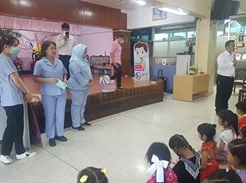 สาธารสุข ศูนย์วัฒนธรรมหญิง ให้ความรู้ด้านสุขภาพและการใช้หน้ากากอนามัย