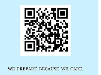 We prepare because we care.
