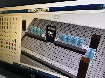 การสร้างของเล่น ด้วยโปรแกม Lego Designer