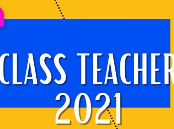 เผยโฉม  !!!  อาจารย์ประจำชั้น ปีการศึกษา 2564